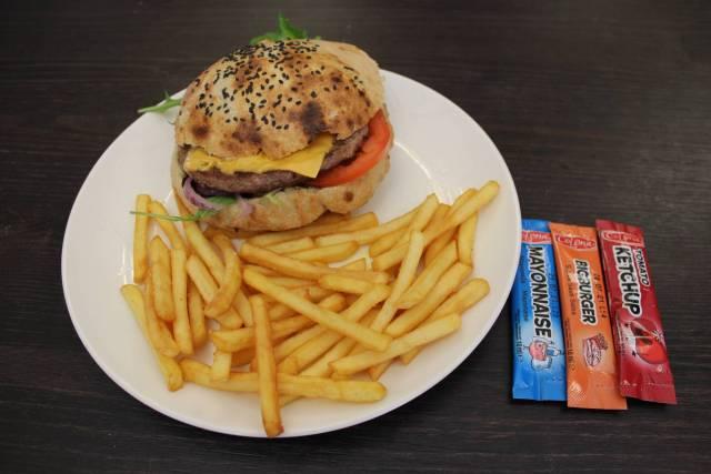 One burger