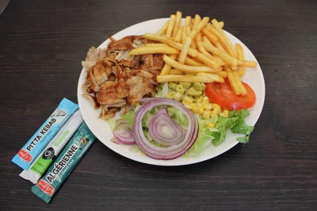 Assiette Kebab