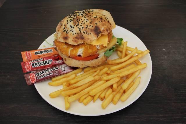 Menu Big Tower Burger